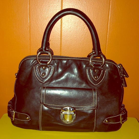 Marc Jacobs Handbags - Marc Jacobs Black Leather Satchel Bag
